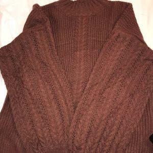 BRAND NEW! Brown sweater